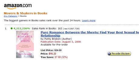 #1 on Amazon.com Movers and Shakers